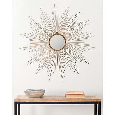 bed bath and beyond sun mirror