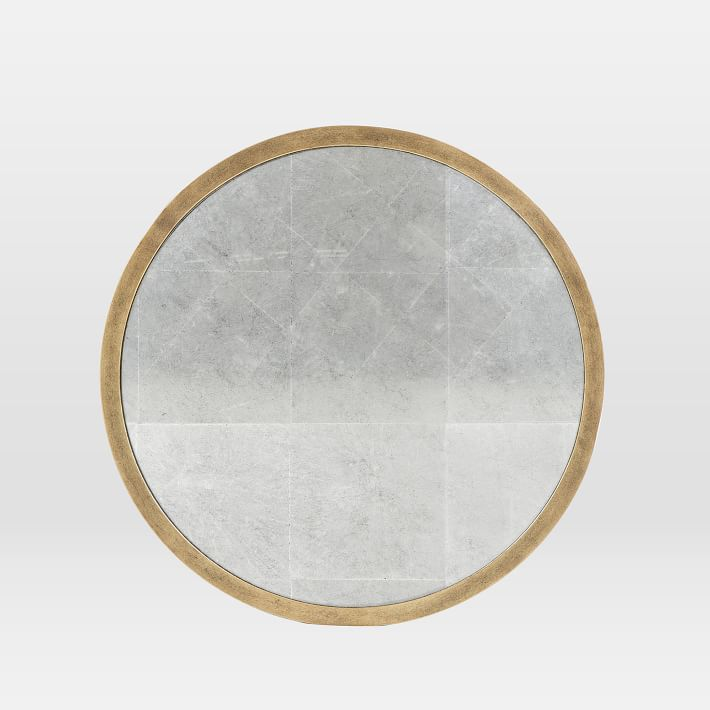 WEST ELM foil-finish-mirror-gold-o