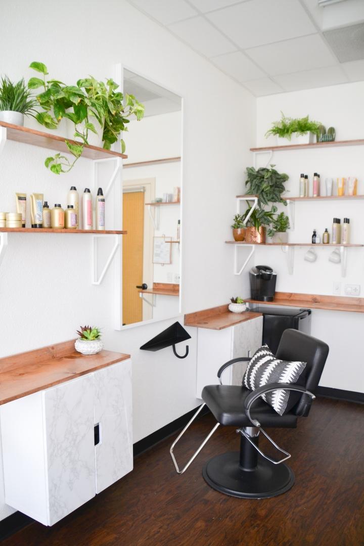 Boho, refined hair salon in Southern California. Ash and Mae Hair Loft in Newport Beach is a modern, stylish bohemian hair salon specializing in blonde hair and that effortlessly casual beach waves. ikea shelf hacks