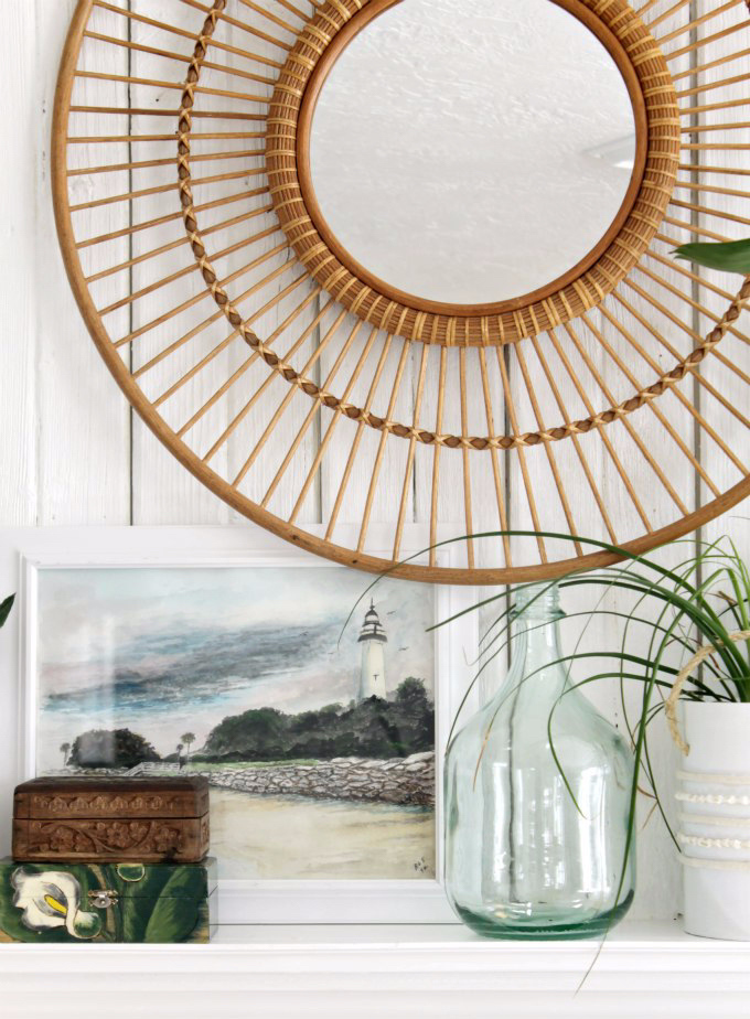 boho mirrors, rattan mirror roundup, bohemian mirror roundup, neutral rooms dont need to be boring - adding texture and layers to a space creates depth . hanging this rattan, bamboo and seagrass mirrors will liven any space!